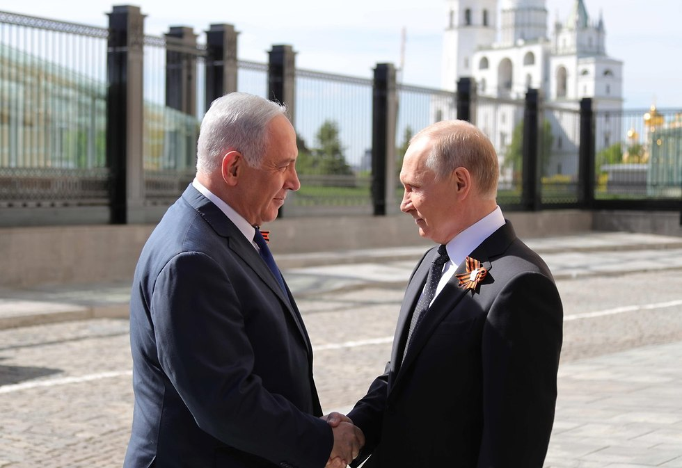 PM Netanyahu (L) and President Putin (Photo: EPA)