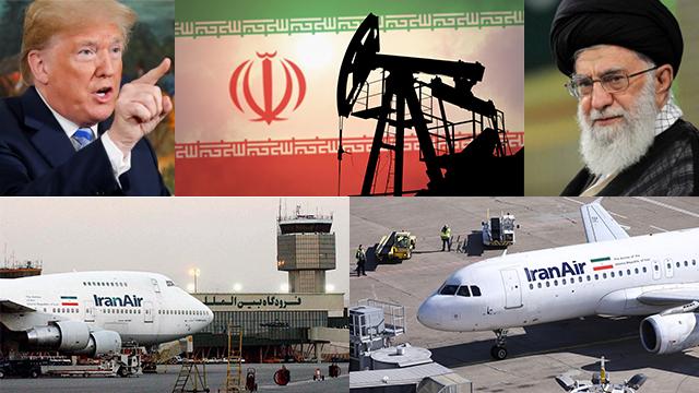 Iran faces oil and aviation sanctions (Photo: AP, Reuters, Shuttershock)