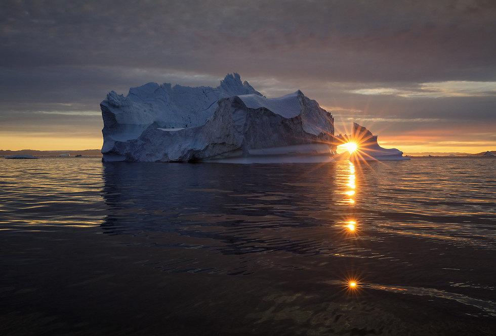 קרחונים בדיסקו ביי, גרינלנד (צילום: ארז מרום)