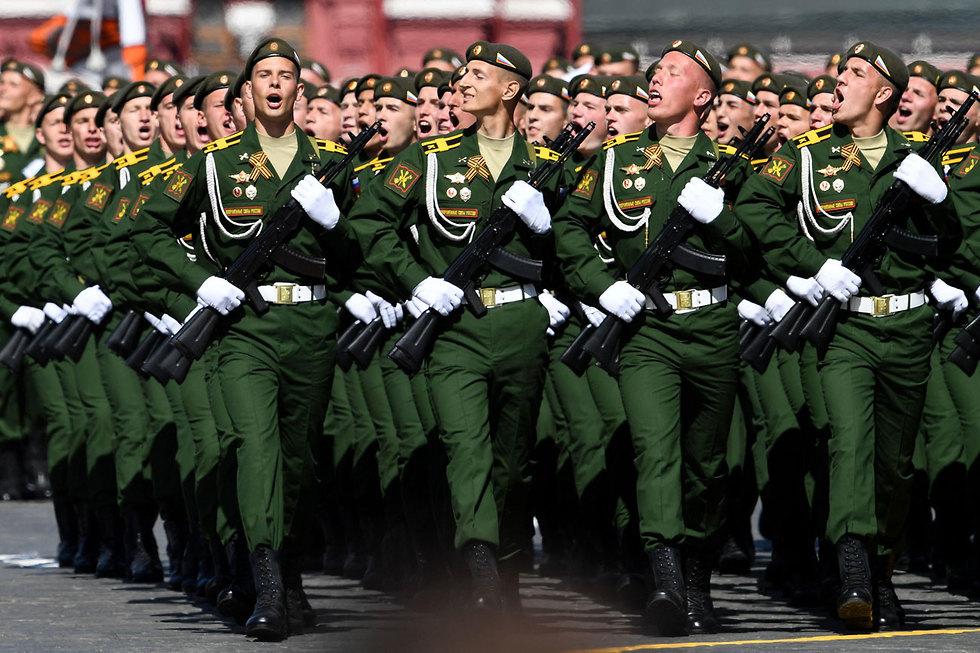 יום הניצחון, מוסקבה  (צילום: AFP)