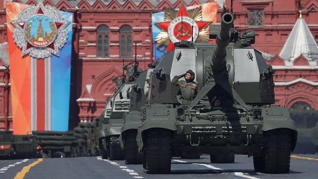יום הניצחון, מוסקבה  (צילום: רויטרס)