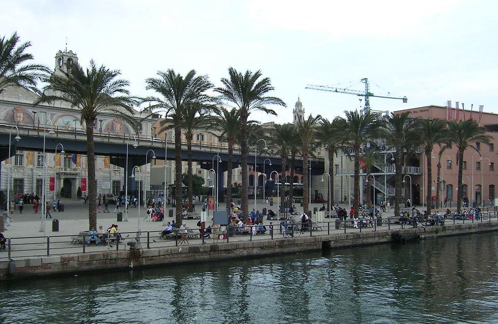 הנמל הישן  Porto antico (צילום: עדי נטף)