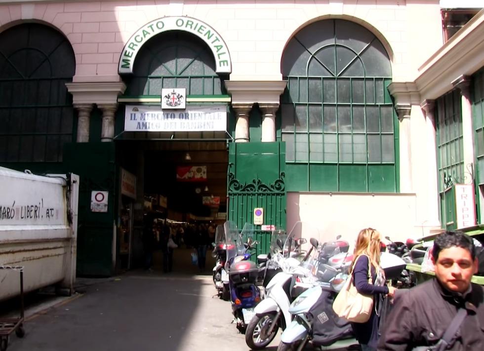 שוק  Mercato Orientale (צילום: עדי נטף)