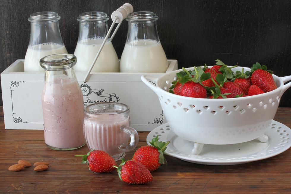 בסיס מעולה לשייקים טבעיים. חלב שקדים ביתי (צילום, סגנון והכנה: אסנת לסטר)