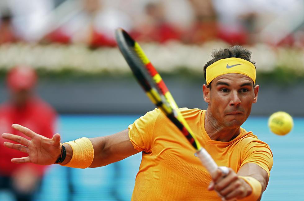 רפאל נדאל מדריד (צילום: AP)