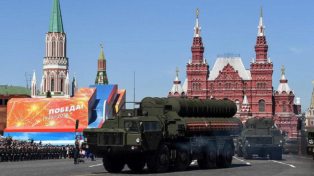 S-400 רוסיה מוסקבה מצעד צבאי (צילום: AFP)