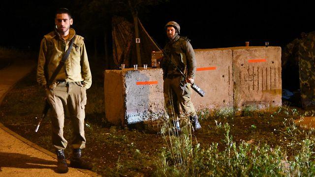 חיילים בגולן (צילום: אביהו שפירא)