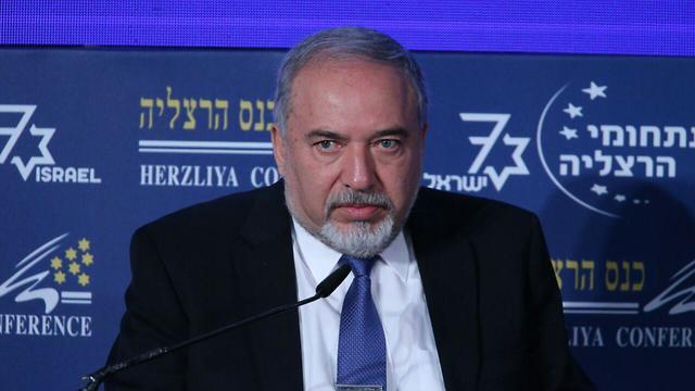 Defense Minister Avigdor Lieberman (Photo: Motti Kimchi)