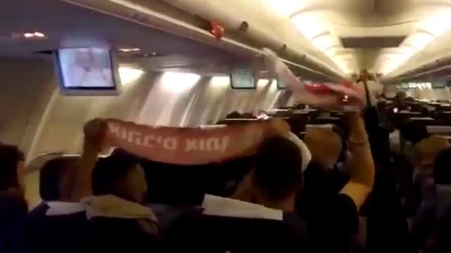 מעודדים את נטע בטיסה לליסבון (צילום: בר יוגב)