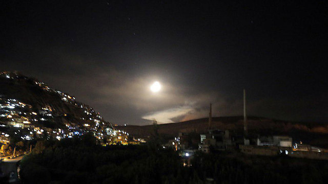 Interception of Israeli missiles in Syria