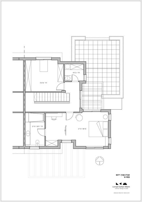 תוכנית הקומה העליונה (תכניות: סטודיו LCM ליבנת כהן מרין)