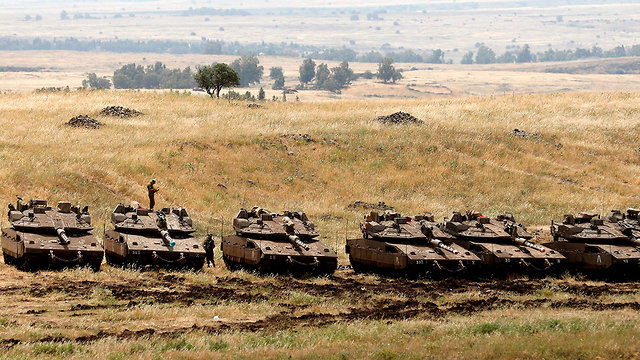 Граница Сирии. Фото: AFP (Photo: AFP)