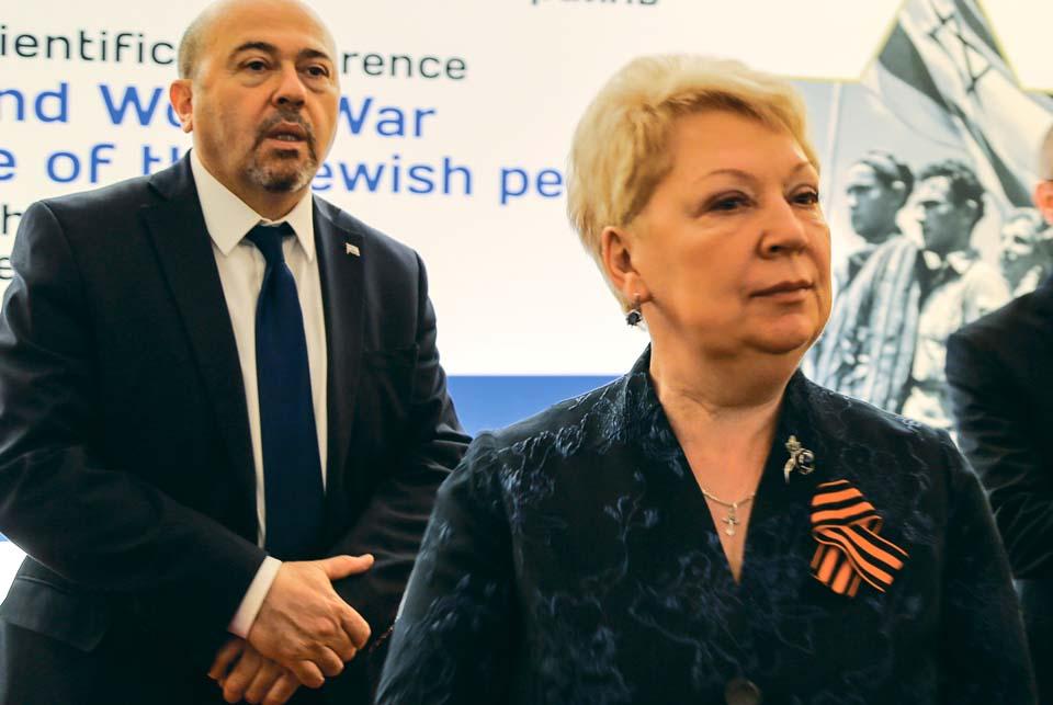 Министр образования России Ольга Васильева