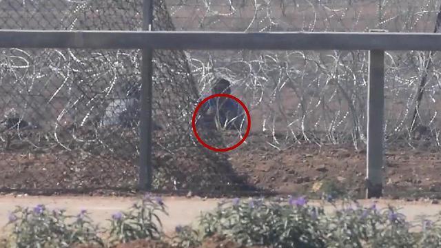 התפרעויות פלסטינים גבול רצועת עזה (צילום: דובר צה