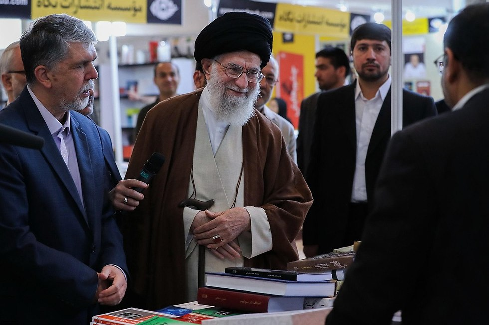 Irans supreme leader khamenei trolls trump with fire and fury for Farcical behavior