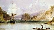 הספינה ביגל בציור (צילום: מתוך ויקיפדיה)