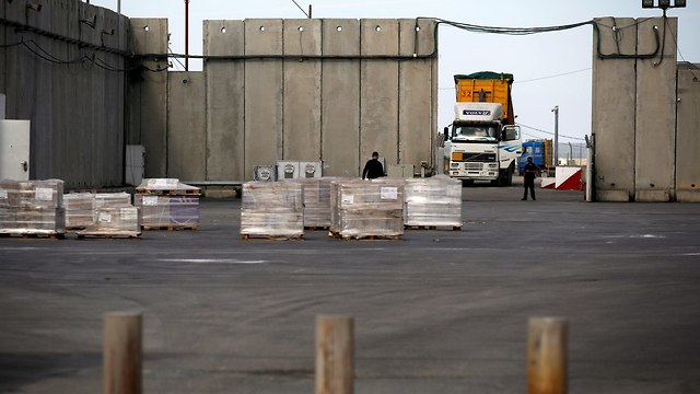 Kerem Shalom crossing (Photo: Reuters)