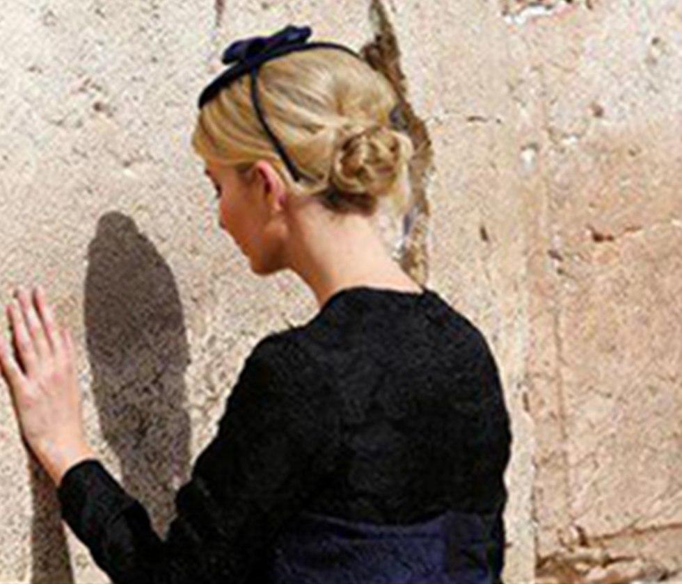 Иванка Трамп у Стены плача в Иерусалиме