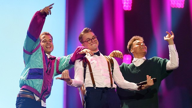 אירוויזיון 2018 צ'כיה (צילום: AP)