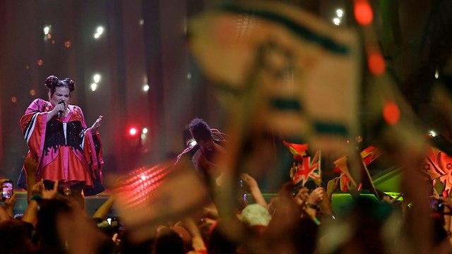נטע ברזילי באירוויזיון 2018 (צילום: AP)