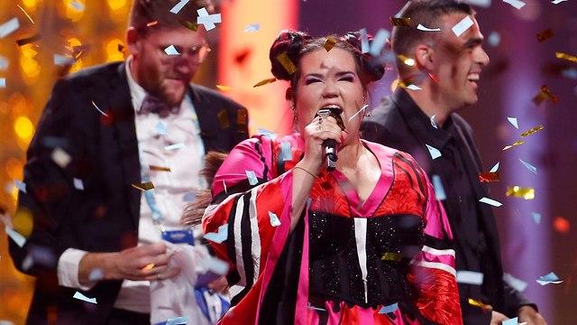 נטע ברזילי באירוויזיון 2018 (צילום: רויטרס)