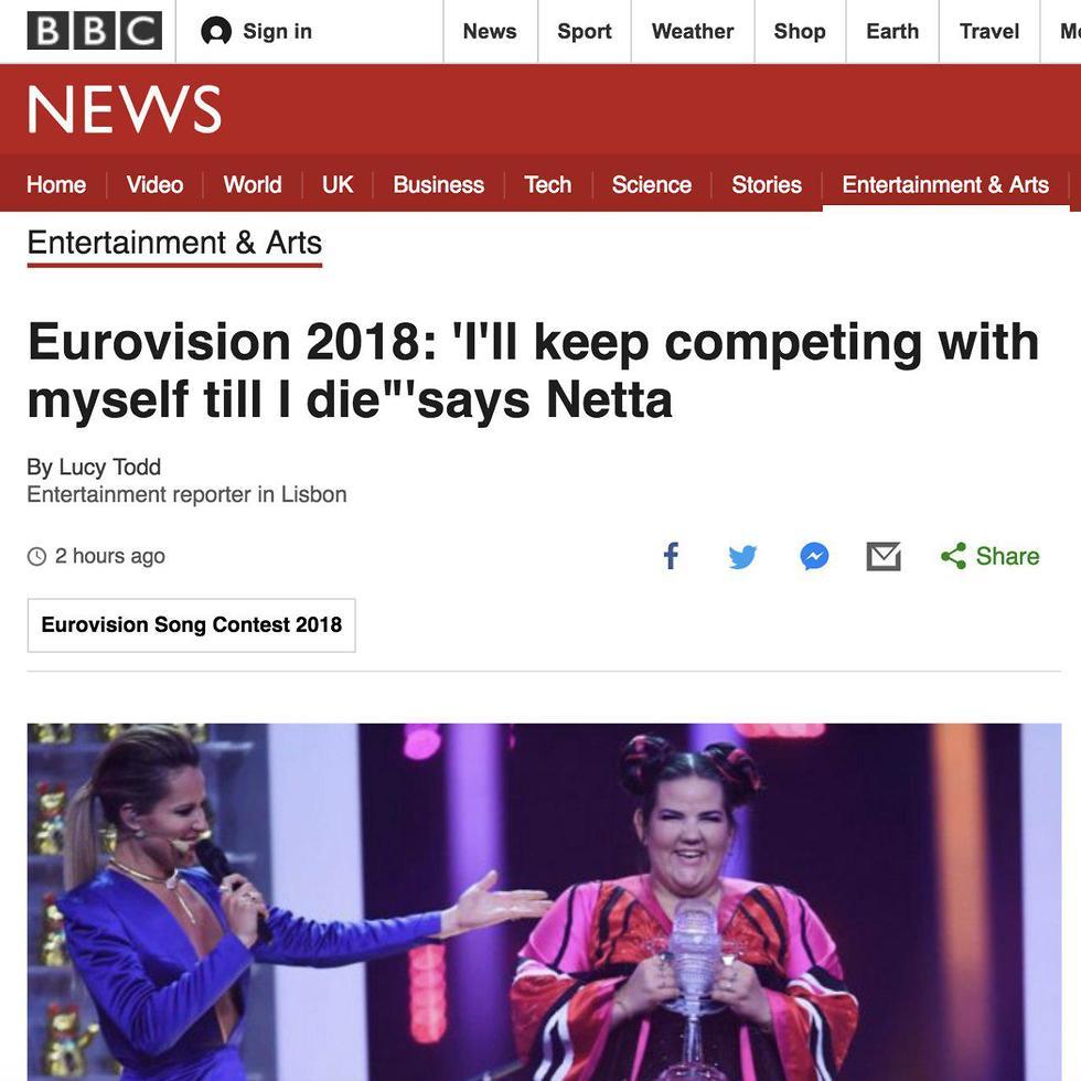 הכותרת ב-BBC ()
