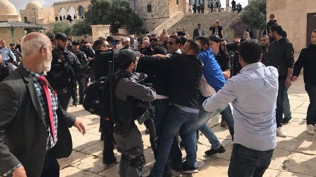 Clashes on the Temple Mount