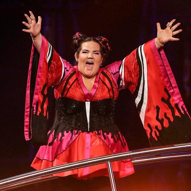 המנצחת הגדולה. נטע ברזילי (צילום: EPA)