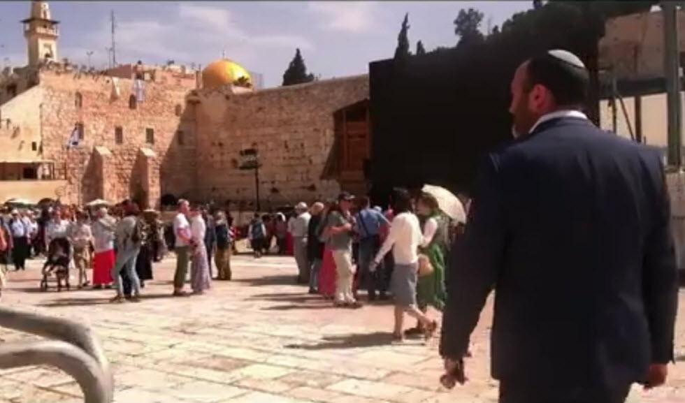 שי אברמסון Y - Studs קליפ הנני כאן ירושלים  ()