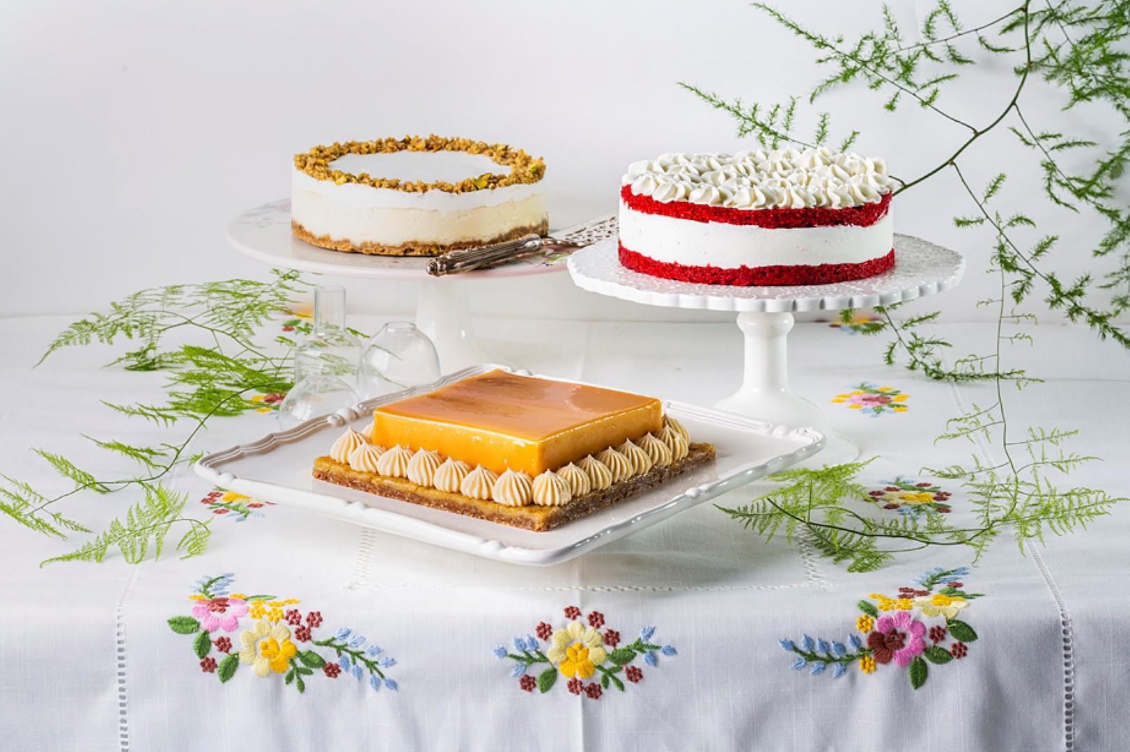 עוגות שבועות של ביסקוטי (צילום: בועז לביא)