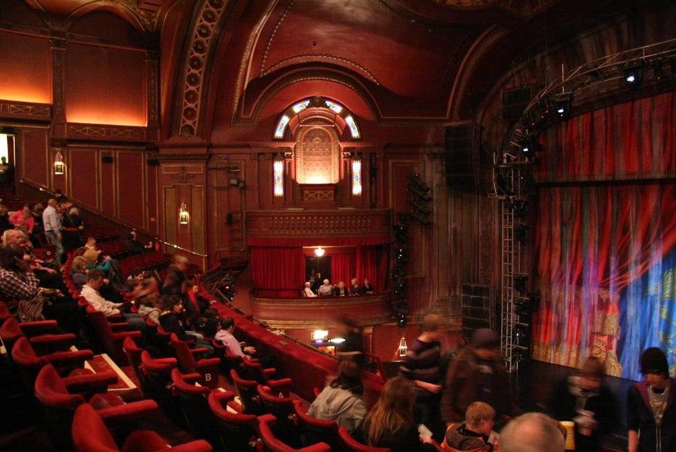 תא בתיאטרון בלונדון (צילום: Mario Sanchez Prada/flickr)