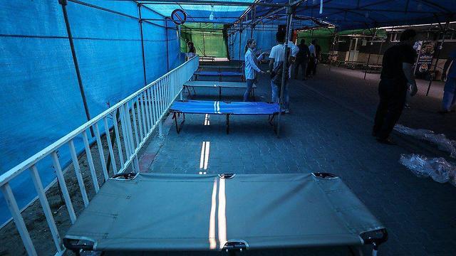 Полевой госпиталь в секторе Газы
