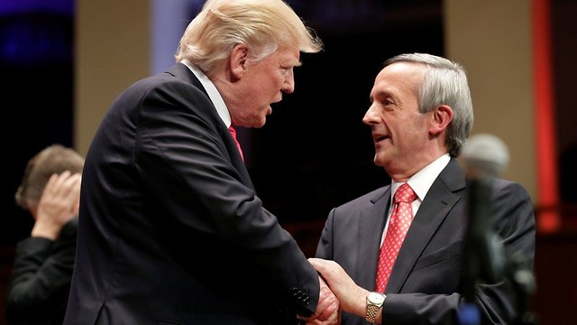 דונלד טראמפ ורוברט ג'פרס (צילום: רויטרס)