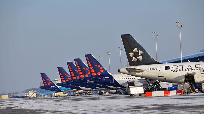 מושבתים ליומיים: בריסל איירליינס (צילום: Brussels Airport from Belgium)