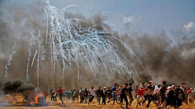 Gaza riots (Photo: AFP)