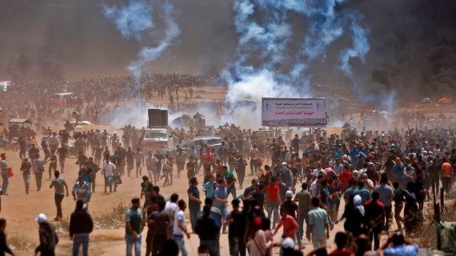 Беспорядки в Газе. Фото: AFP