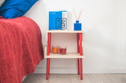 יש גם רהיטים שמשלבים חומרים נוספים (צילום: מולט)