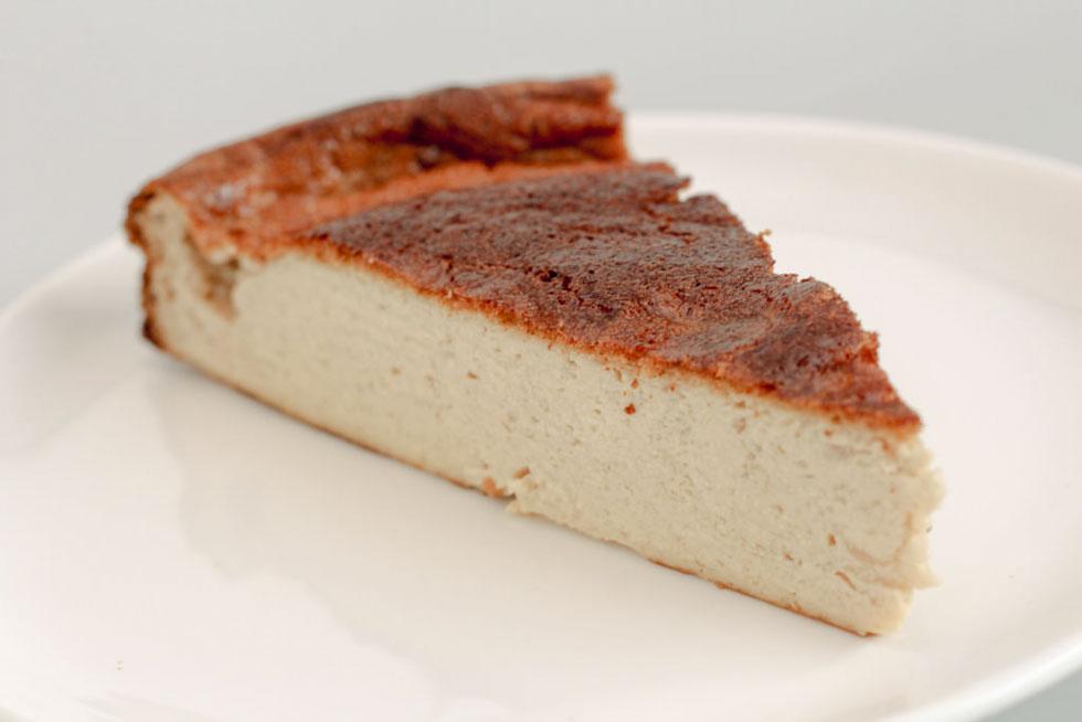 עוגת גבינה עשירה בחלבון (צילום: אופיר שפר)