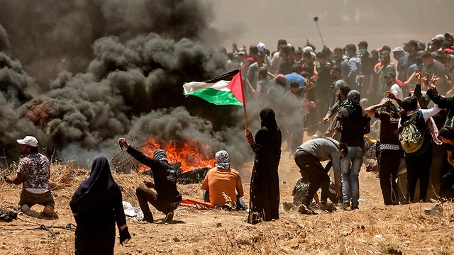 Столкновения в Газе (Photo: AFP)