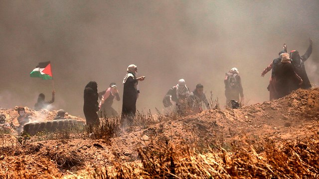 Беспорядки на границе между Газой и Израилем. Фото: AFP (Photo: AFP)