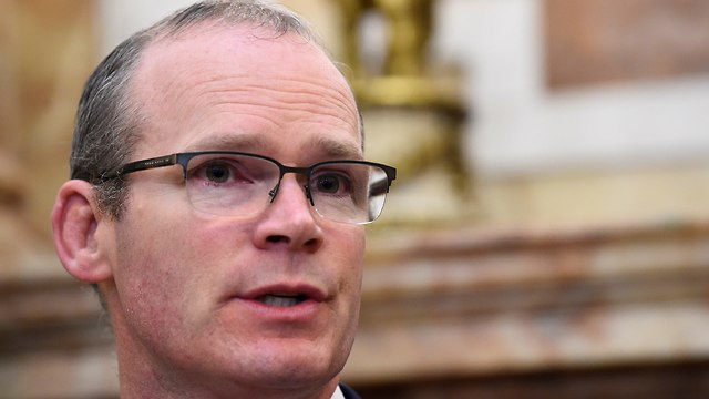 Irish FM Simon Coveney criticized the US Embassy's move to Jerusalem (Photo: Reuters)