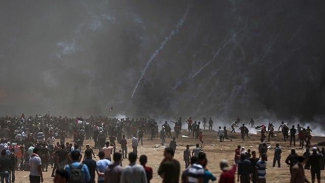 Беспорядки в Газе. Фото: ЕРА (Photo: EPA)