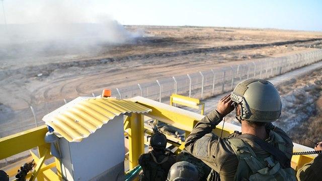 ЦАХАЛ на границе с Газой. Фото: пресс-служба ЦАХАЛа (Photo: IDF Spokesman's Office)
