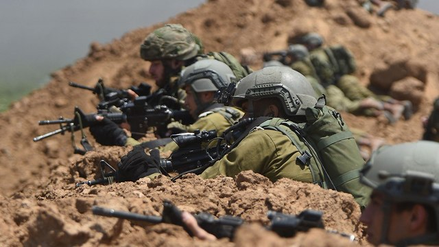 ЦАХАЛ на позициях у границы с Газой. Фото: пресс-служба ЦАХАЛа