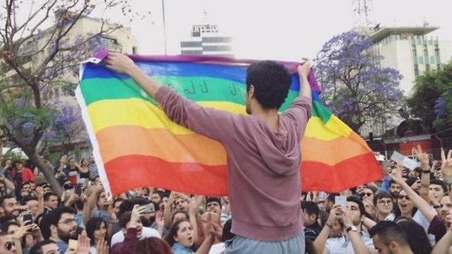 אירועי הגאווה ב-2017 (צילום: טוויטר)