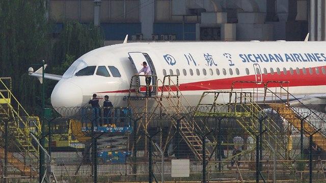 מטוס סצ'ואן איירליינס (צילום: רויטרס)