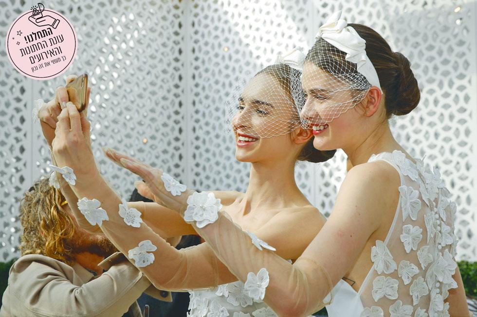 לילה רוז. האקססוריז לשיער הפכו למגמה הגדולה של עונת החתונות הקרובה (צילום: JP Yim/GettyimagesIL)