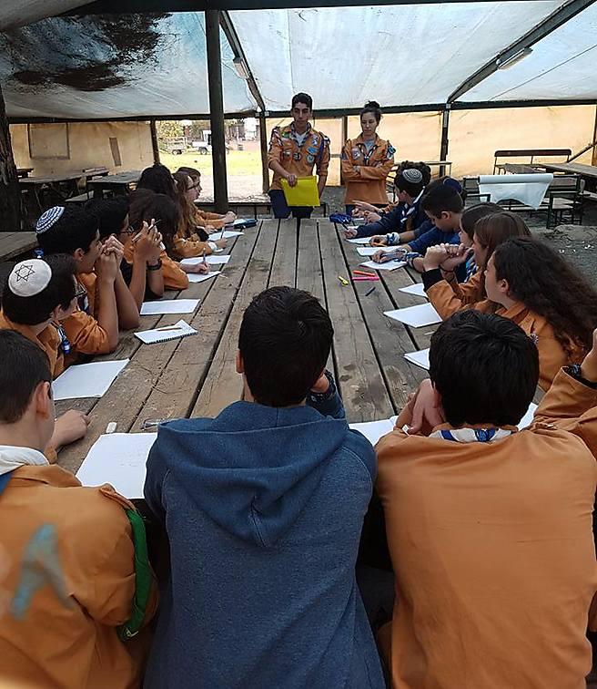 """""""תנועות נוער ישראליות לא ערוכות לקלוט עולים חדשים"""". """"המאירים"""" בפעולה (באדיבות תנועת המאירים)"""