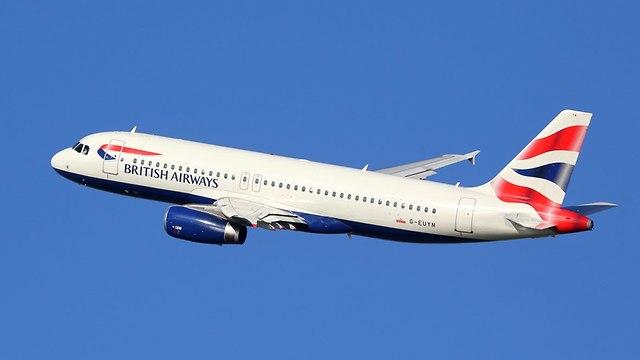 מטוס חברת תעופה בריטית בריטניה בריטיש איירווייז אילוס אילוסטרציה (צילום: Shutterstock)