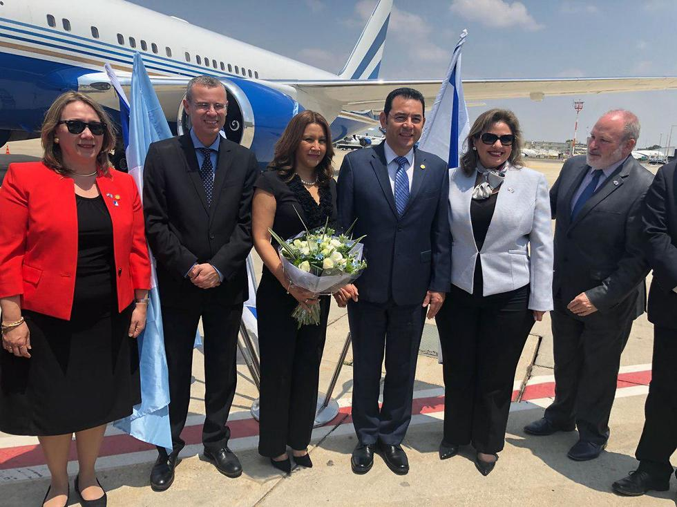 Morales arrives in Israel